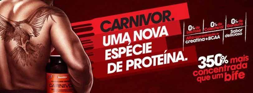 Carnivor, mais concentrada do que a Carne