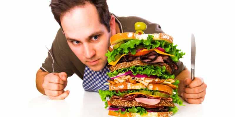 Comer muito não é sinônimo de comer com qualidade