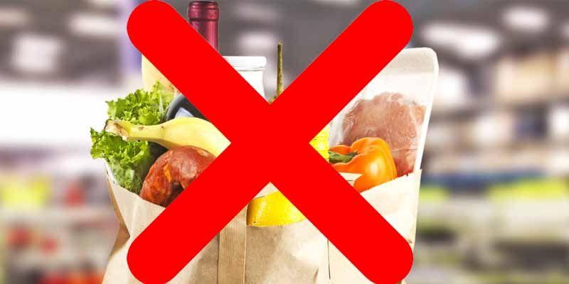 Alimentos para Excluir da dieta