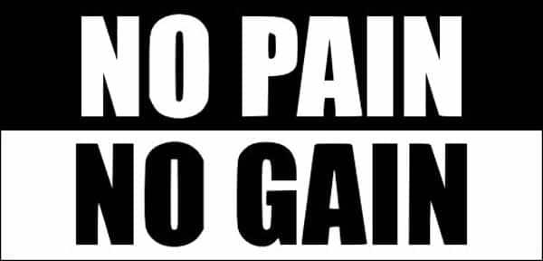 Dicas de musculação: sem dor sem ganho