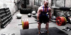 Imagem de Um treino para powerlifting