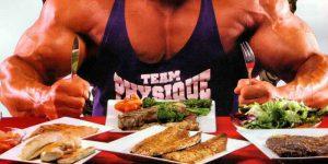 Image d'astuce rapide: un repas de bodybuilder