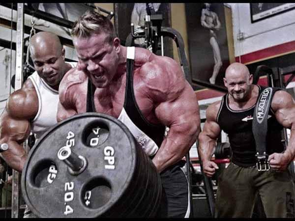 treino mais pesado de musculação
