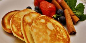 Imagem de Receita panquecas protéicas e nutritivas