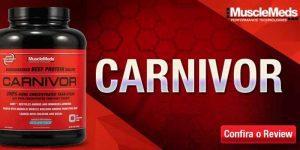 Imagem de Carnivor: a proteína da carne vermelha isolada e hidrolisada