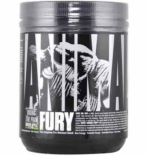 suplemento oxigenação Animal Fury Universal Nutrition