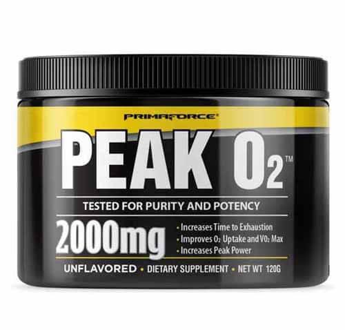 suplemento oxigenação Peak O2 Primaforce