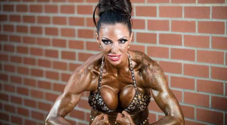 Atleta de Fisiculturismo Feminino