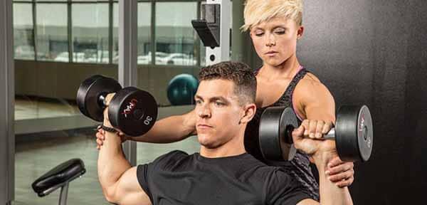 treino básico musculação