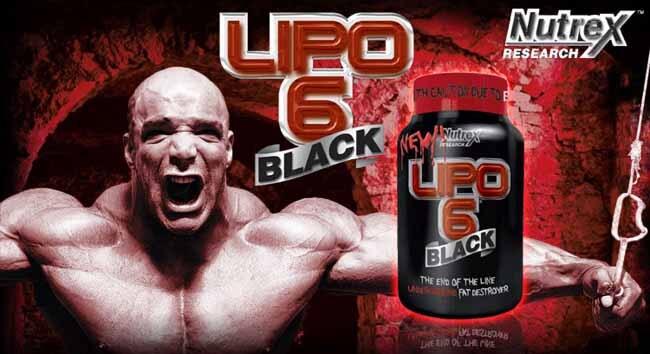 Lipo 6 Black ajuda no Aumento de Força