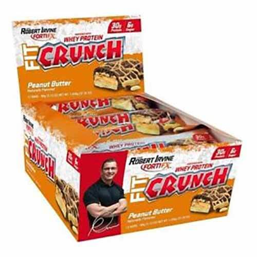 Barras de Proteína Fit Crunch Bars