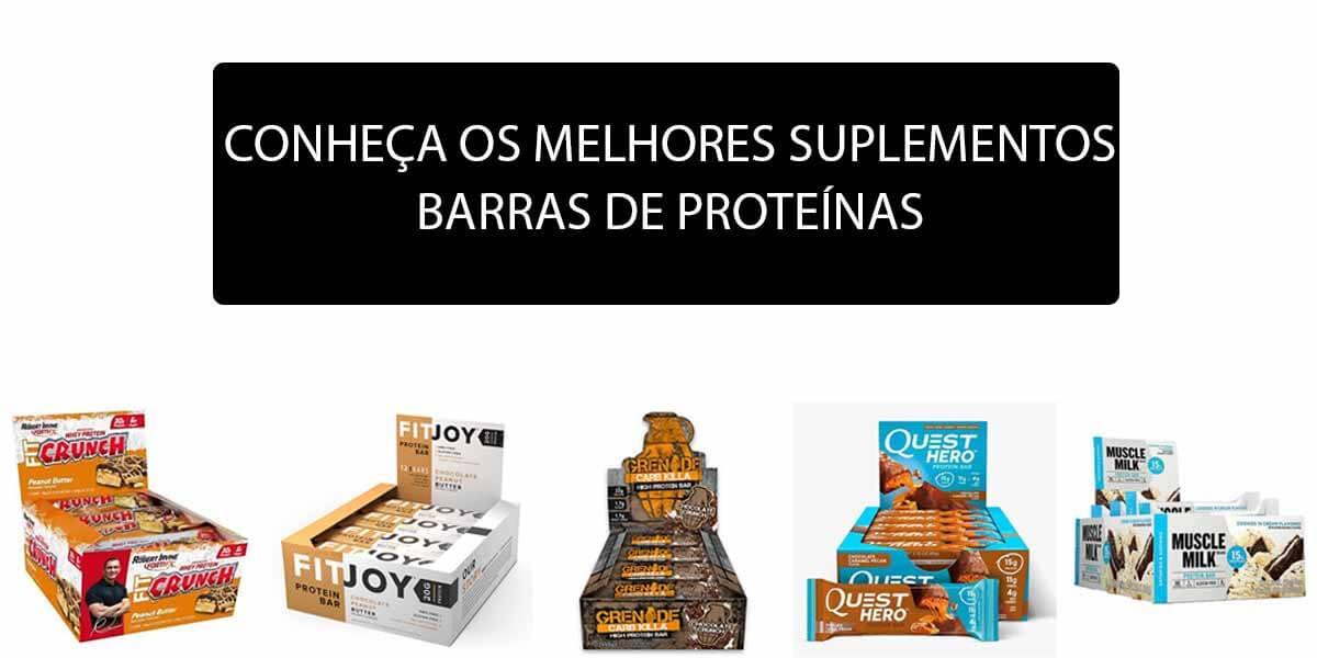 fa46afa6a Conheça os Melhores Suplementos em Barras de Proteína do Mercado ...