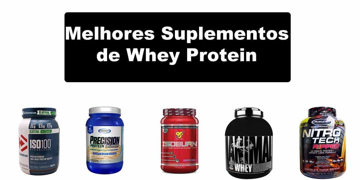 37030c1db Conheça os Melhores Suplementos de Whey Protein (2019)