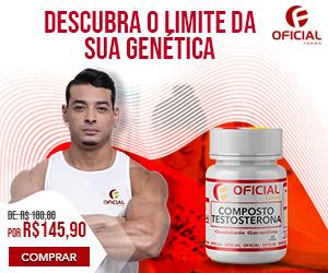 Composto de Testosterona para Aumento de Massa Muscular Oficial Farma