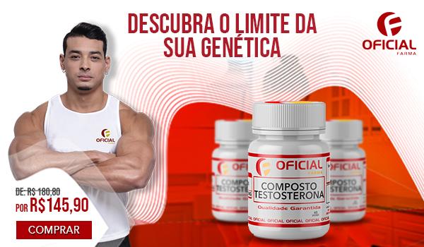 Composto de Testosterona para Aumento de Massa Muscular