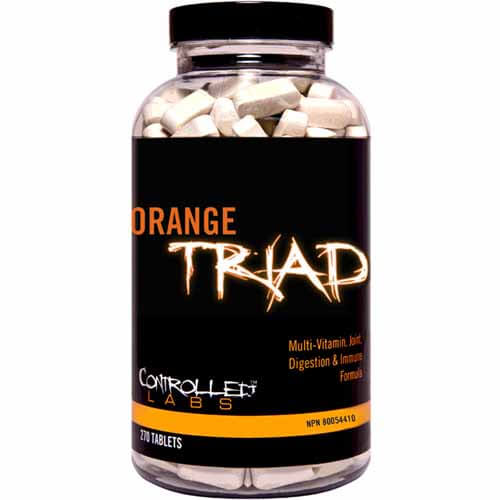 Embalagem do Orange Triad