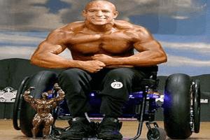 Image de la musculation comme aide pour les personnes ayant des besoins spéciaux