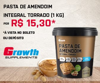 Pasta de amendoim growth supplements
