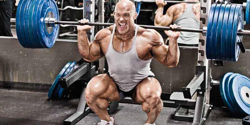 Você treina pesado-treina muito