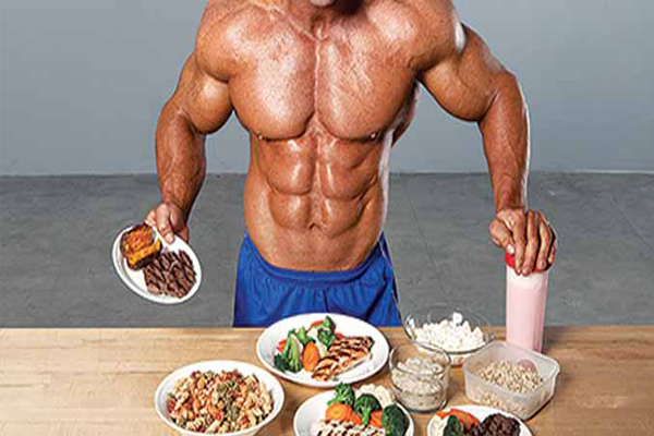 alimentação musculação