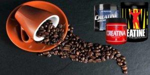 Image de la créatine et de la caféine se combinent dans l'exercice physique?