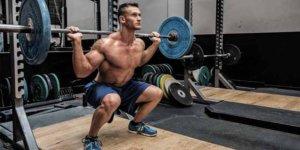 Image Squat gratuite: comment effectuer correctement et conseils d'exercice!