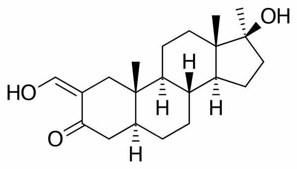 Fórmula da Oximetolona