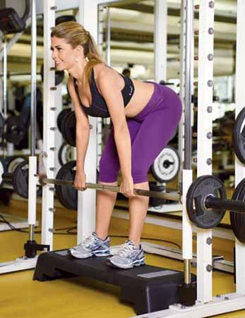 Exercício Stiff com Step