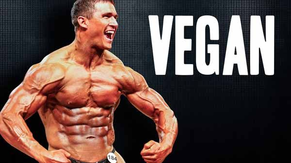 Atleta de Bodybuilding Vegano