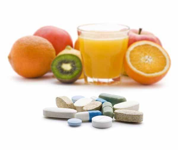 Comida ou Suplementos de Vitamina