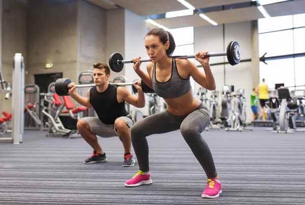 Exercício Livre: Agachamento