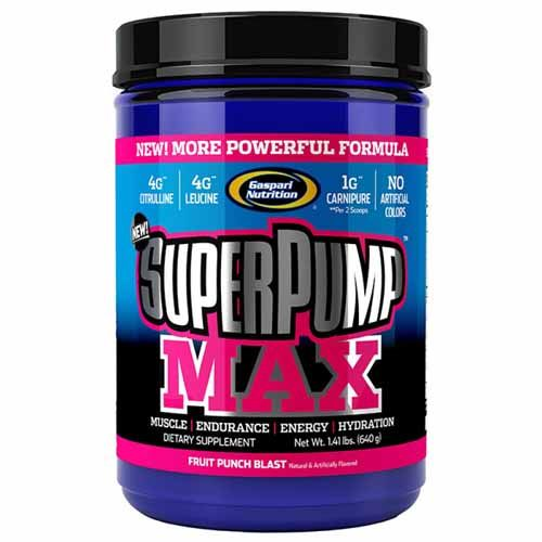 Suplemento Pré-Treino Superpump MAX