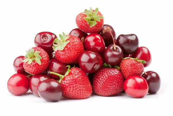 Frutas Vermelhas para Perda de Peso