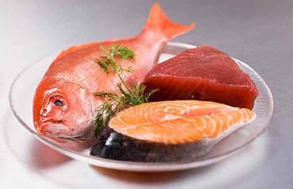 Misturar Carne Vermelha e Peixe