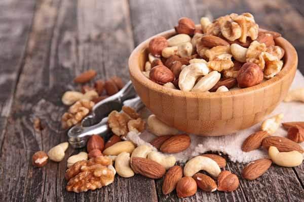 Oleaginosas, castanha do pará, amendoim