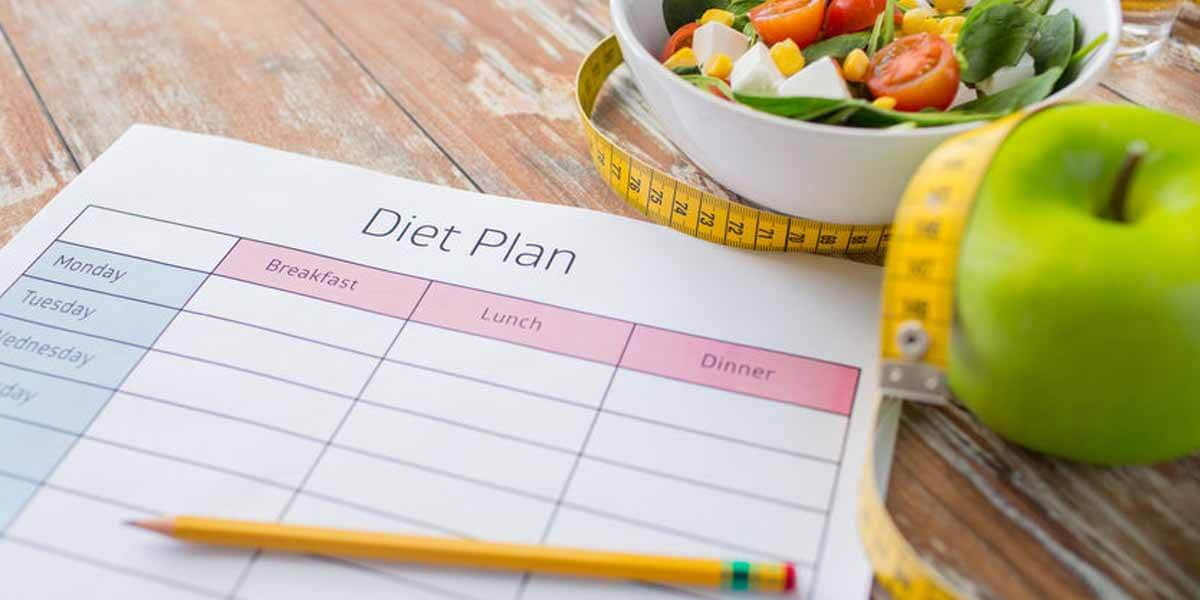 Plano para iniciar uma dieta