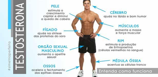 Benefícios da Testosterona