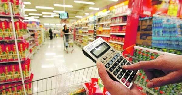 Fazer contas no Supermercado