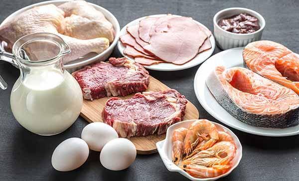 Alimentos para dieta hiperproteica