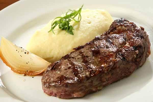 Refeição Pós-treino: Purê de Batatas e Carne Vermelha