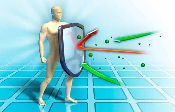 Proteção contra vírus e bactérias