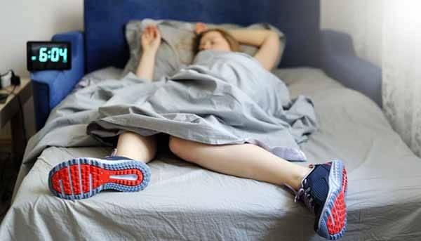 Preguiça de levantar da cama