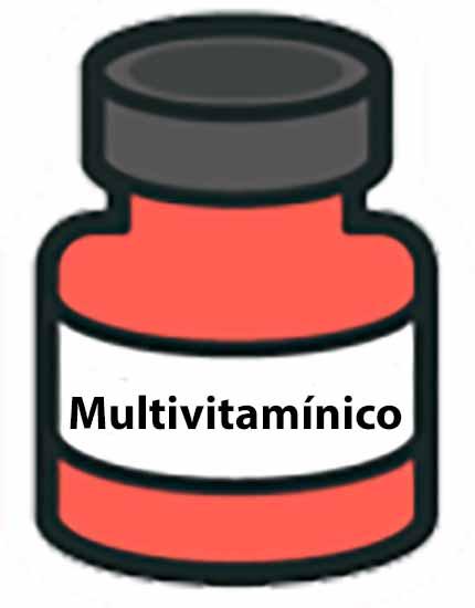 Pote de Multivitamínico