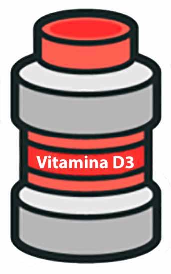 Pote de Vitamina D3