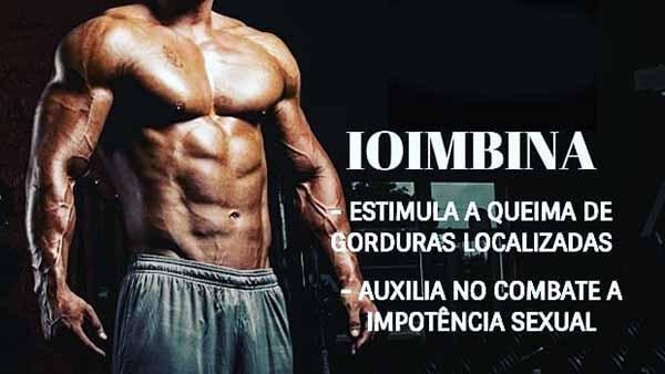 benefícios suplemento ioimbina