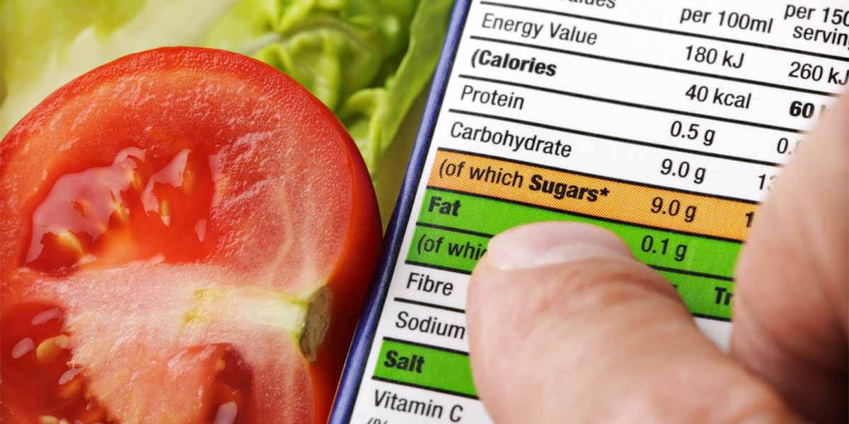 calcular nutrientes da dieta