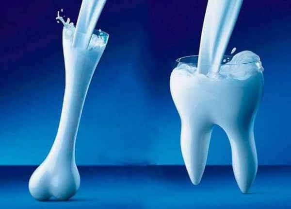 Cálcio para a formação dos ossos e dentes
