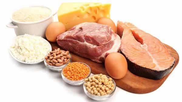 Dê preferência para as proteínas