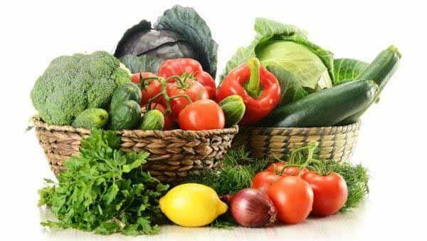 Faça variações de verduras e legumes na sua dieta