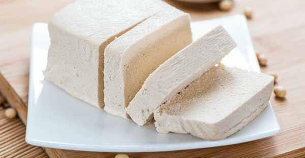 queijo de soja tofu